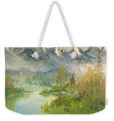 Mountain View Glen Weekender Tote Bag