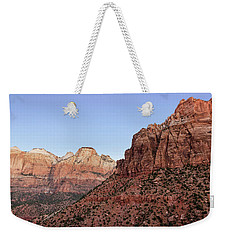 Mountain Vista At Zion Weekender Tote Bag