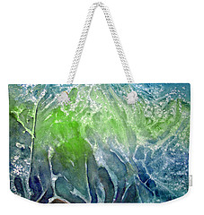 Weekender Tote Bag featuring the painting Mountain Walk by Allison Ashton