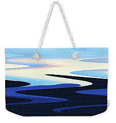 Mountains And Sky Abstract Weekender Tote Bag