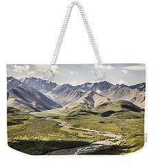 Mountains In Denali National Park Weekender Tote Bag