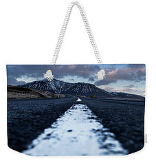 Weekender Tote Bag featuring the photograph Mountains In Iceland by Pradeep Raja Prints