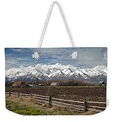 Mountains In Logan Utah Weekender Tote Bag