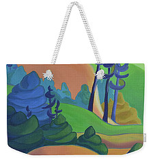 Hills In Spring Weekender Tote Bag