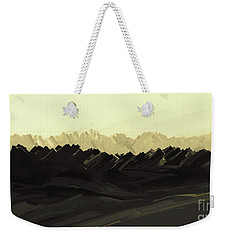 Mountains Of The Mohave Weekender Tote Bag