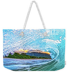 Mountains To The Sea Weekender Tote Bag