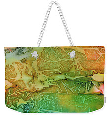 Mountains, Trees, Icy Seas Weekender Tote Bag