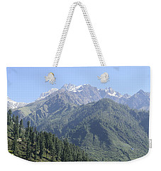 Mountainscape Weekender Tote Bag