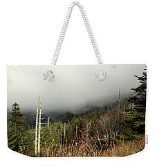 Mountainside View Weekender Tote Bag