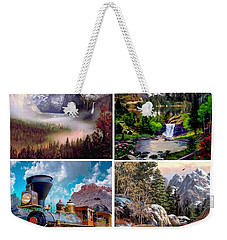 Mountians Weekender Tote Bag by Ron Chambers