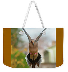 Mourning Dove Hover Mode Weekender Tote Bag