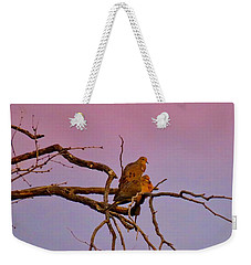 Mourning Doves Weekender Tote Bag