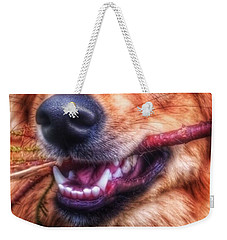 Mouth Weekender Tote Bag