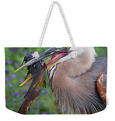 Mouthfull Weekender Tote Bag