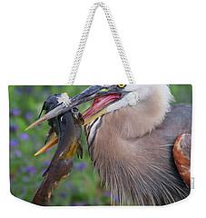 Mouthfull Weekender Tote Bag