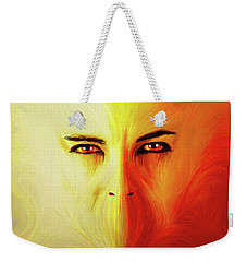 Mouthless Weekender Tote Bag by Matt Lindley