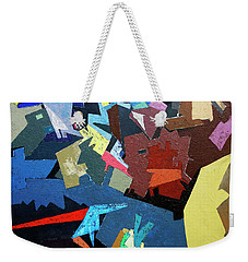 Move Forward Weekender Tote Bag