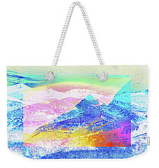 Move Mountain Weekender Tote Bag