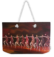 Movement And Music Weekender Tote Bag