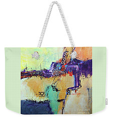 Movin' Left Weekender Tote Bag by Ron Stephens