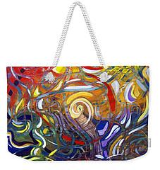 Moving Color Weekender Tote Bag