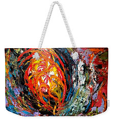Moving Energy Weekender Tote Bag