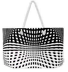 Moving Feats Of Black And White Weekender Tote Bag