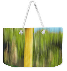 Moving Trees 32 Portrait Format Weekender Tote Bag