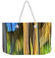 Moving Trees 33 Portrait Format Weekender Tote Bag