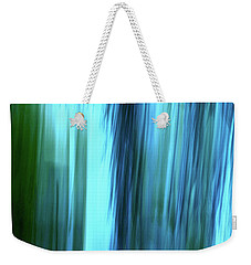 Moving Trees 37-15portrait Format Weekender Tote Bag