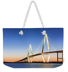 Moving Yet Still Weekender Tote Bag