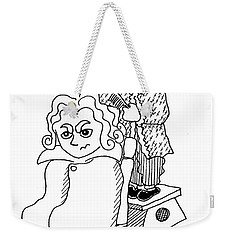 Mozart And Beethoven Weekender Tote Bag