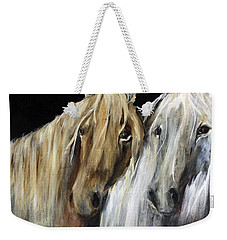 Mozart And The White Wind Horse Weekender Tote Bag by Barbie Batson