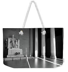 Mr Abe Goes To Washington Weekender Tote Bag by John S