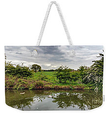 Weekender Tote Bag featuring the photograph Mr And Mrs by Isabella F Abbie Shores FRSA