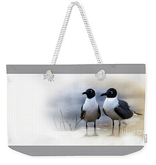 Mr And Mrs Laughing Gull Weekender Tote Bag