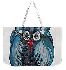 Mr. Blue Owl Weekender Tote Bag