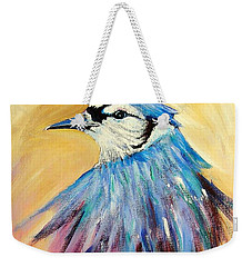 Mr. Blue Weekender Tote Bag