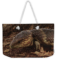 Weekender Tote Bag featuring the photograph Mr Bobtail II by Cassandra Buckley
