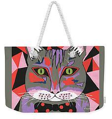 Mr Cat Weekender Tote Bag