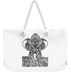 Mr. Elephante Weekender Tote Bag