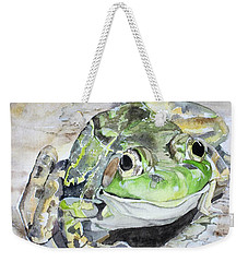 Mr Frog  Weekender Tote Bag