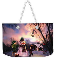Mr. Frosty Weekender Tote Bag