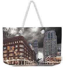 Weekender Tote Bag featuring the photograph Mr. Jason Hall 2015 by Nicholas  Grunas