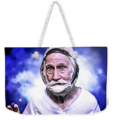 Mr. Joseph Blue Pulaski Weekender Tote Bag by Nicholas  Grunas