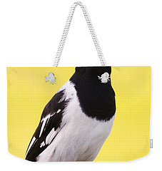 Mr. Magpie Weekender Tote Bag by Jorgo Photography - Wall Art Gallery