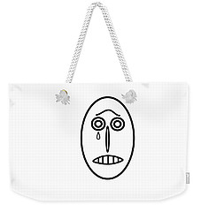 Mr Mf Has A Bad Consience   Weekender Tote Bag
