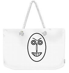 Mr Mf Has A False Smile Weekender Tote Bag