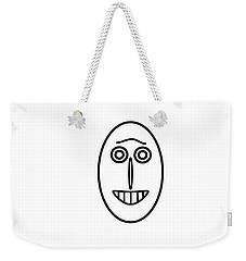 Mr Mf Has A Smile Weekender Tote Bag