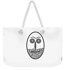 Mr. Mf Is An Unshaved Macho Weekender Tote Bag